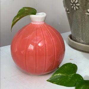 Boho Pink Pier 1 Vase, Home Decoration